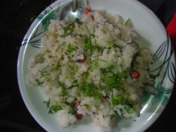 Breakfast Recipes -Dahi Poha