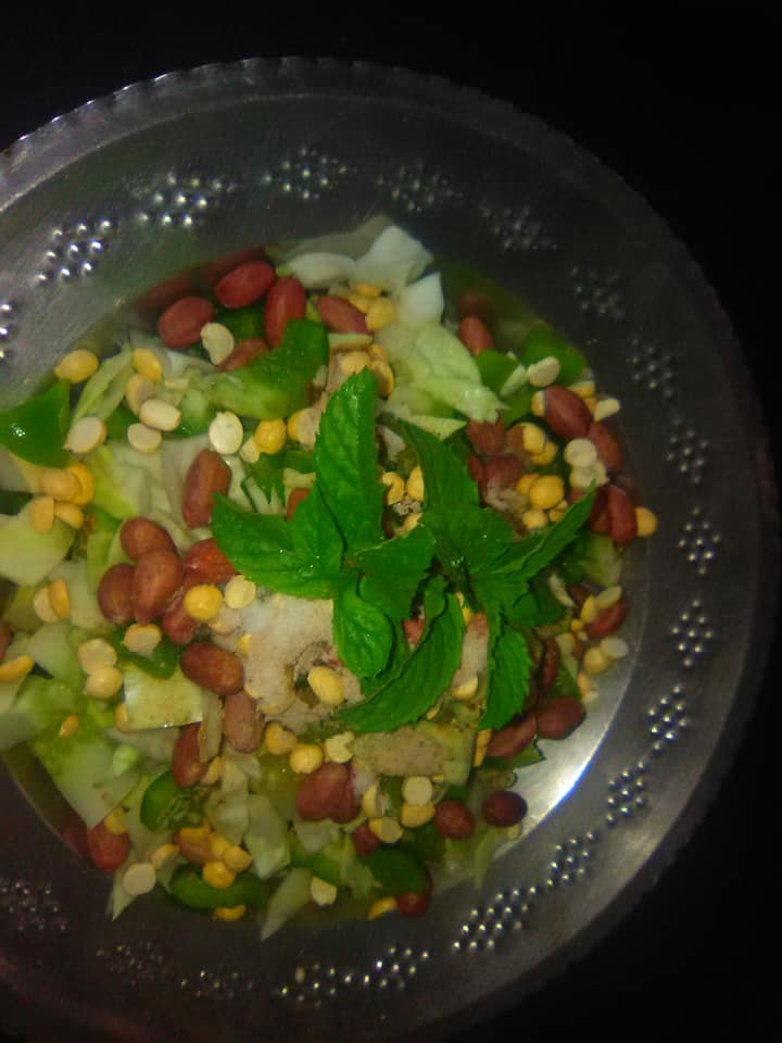 green fresh salad recipe /https://chhayaonline.com