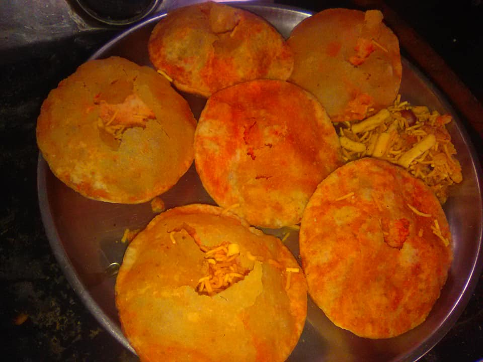stuffed save puri recipe