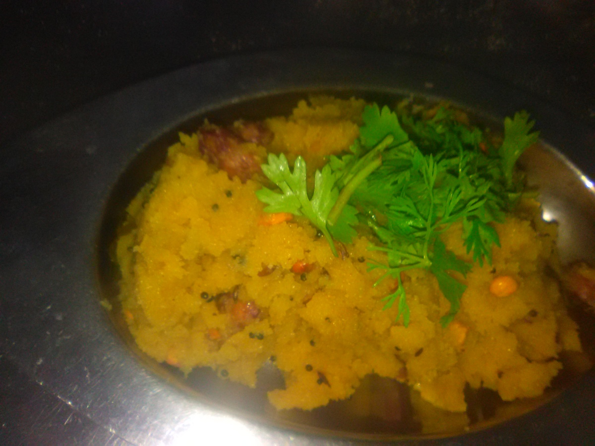 Breakfast food - Traditional Upma