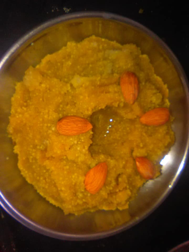 Apple halwa recipe/chhayaonline.com