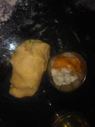 kneaded flour for jaggary paratha/chhayaonline.com