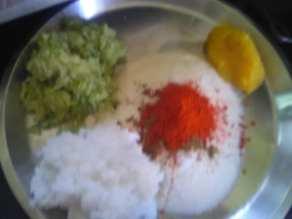 ingredients for paratha