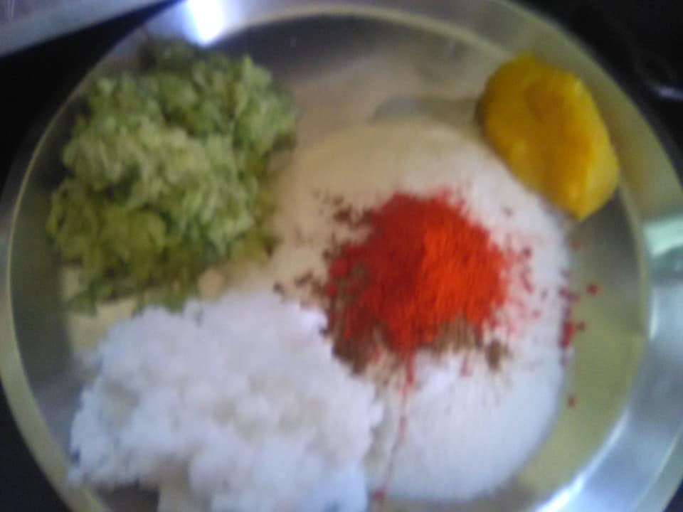 ingredients for paratha