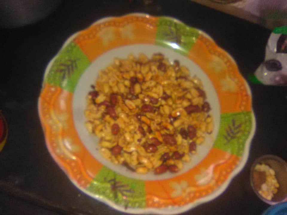baked peanut recipe /chhayaonline.com