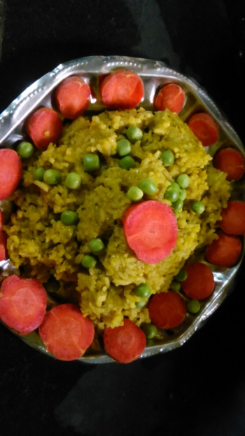 Green Spinach Rice Recipe Indian - Chhaya's Kitchen