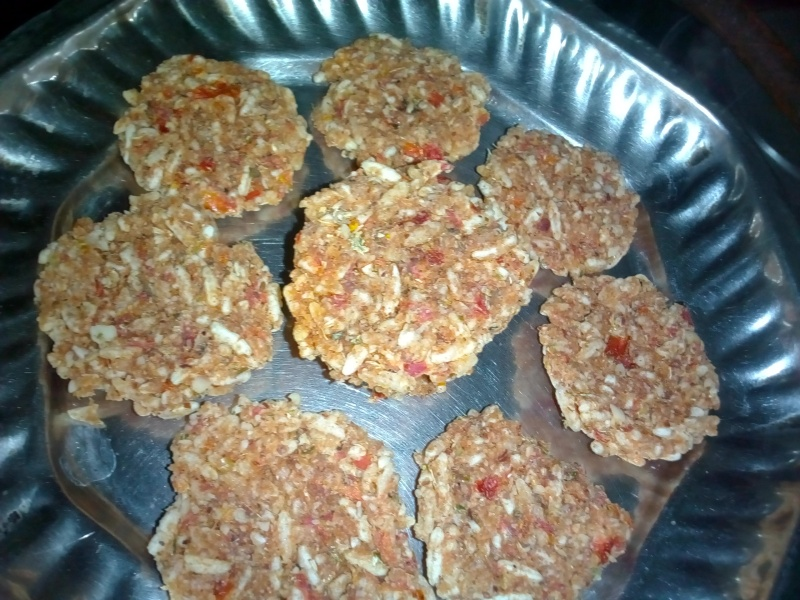 Murmura rice cutlet recipe/chhayaonline.com