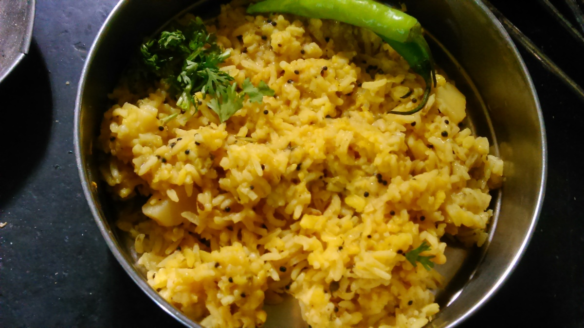 Moong Dal Khichadi Recipe -Marathi