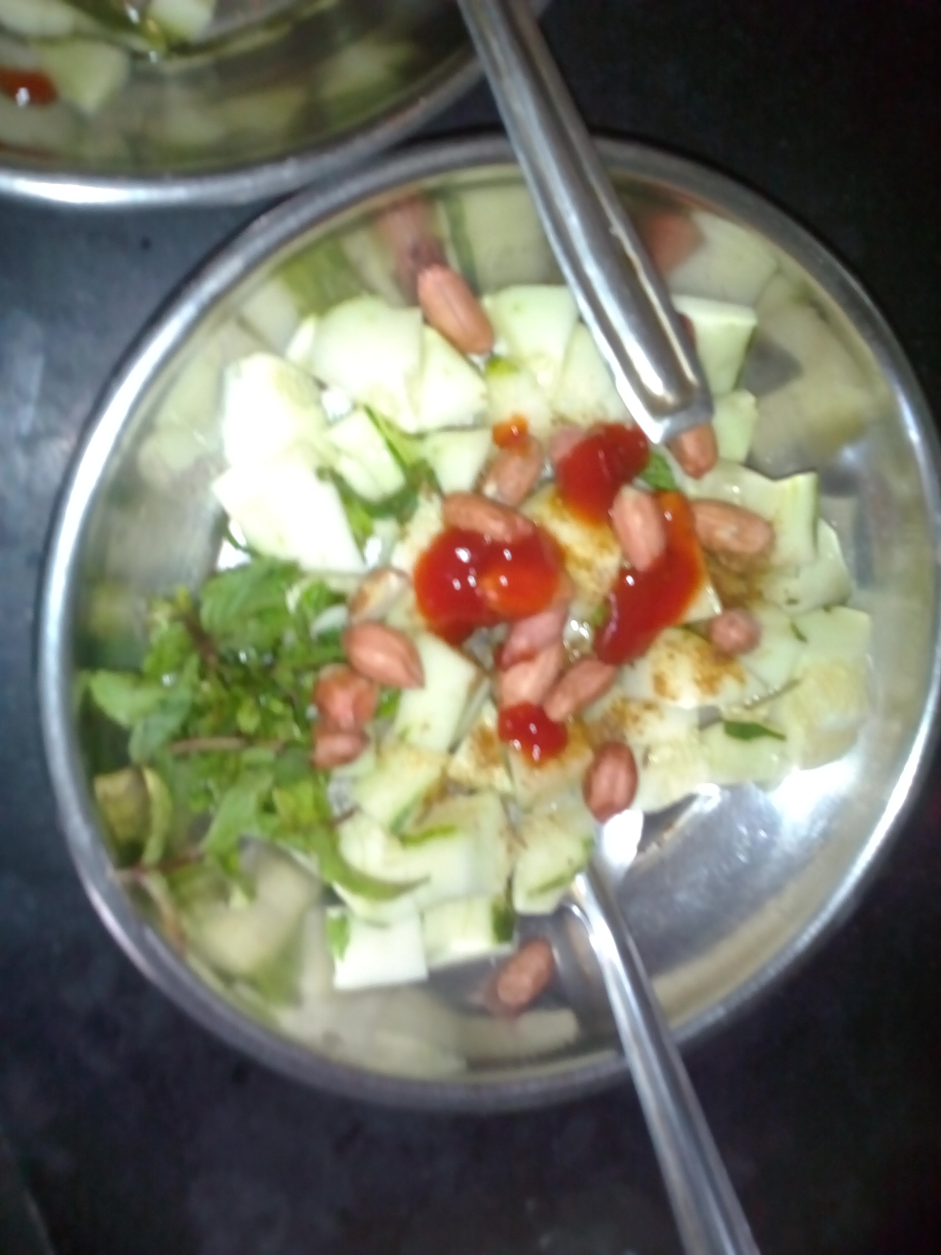 collection of salads/chhayaonline.com