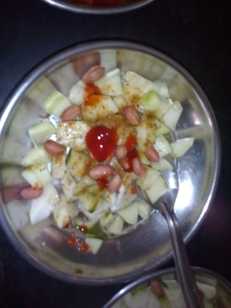 ring raw mango salad/ https://chhayaonline.com
