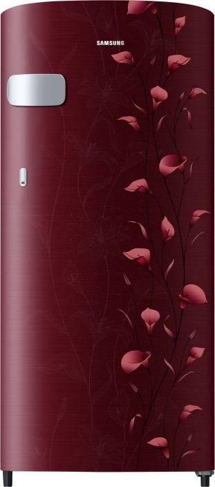 Samsung 192 L Direct Cool Single Door 2 Star Refrigerator  (Tender Lily Red, RR19N1Y12RZ-HL/ RR19R2Y12RZ-NL) /chhayaonline.com