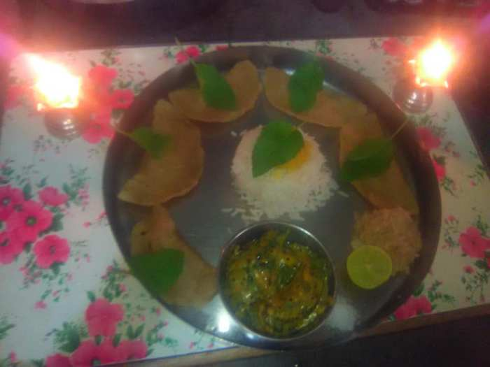 festival recipes- dalrice puran gujiya /chhayaonline.com