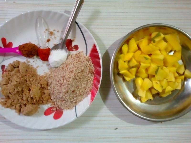 Mango curry? Kairus [Marathi]