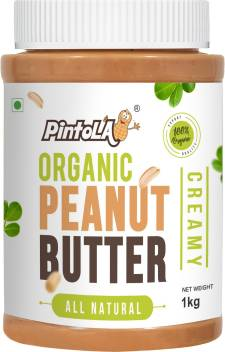 Pintola Organic Peanut Butter (Creamy) 1 kg 4.41,379 Ratings & 172 Reviews ₹449₹49910% off/chhayaonline.com