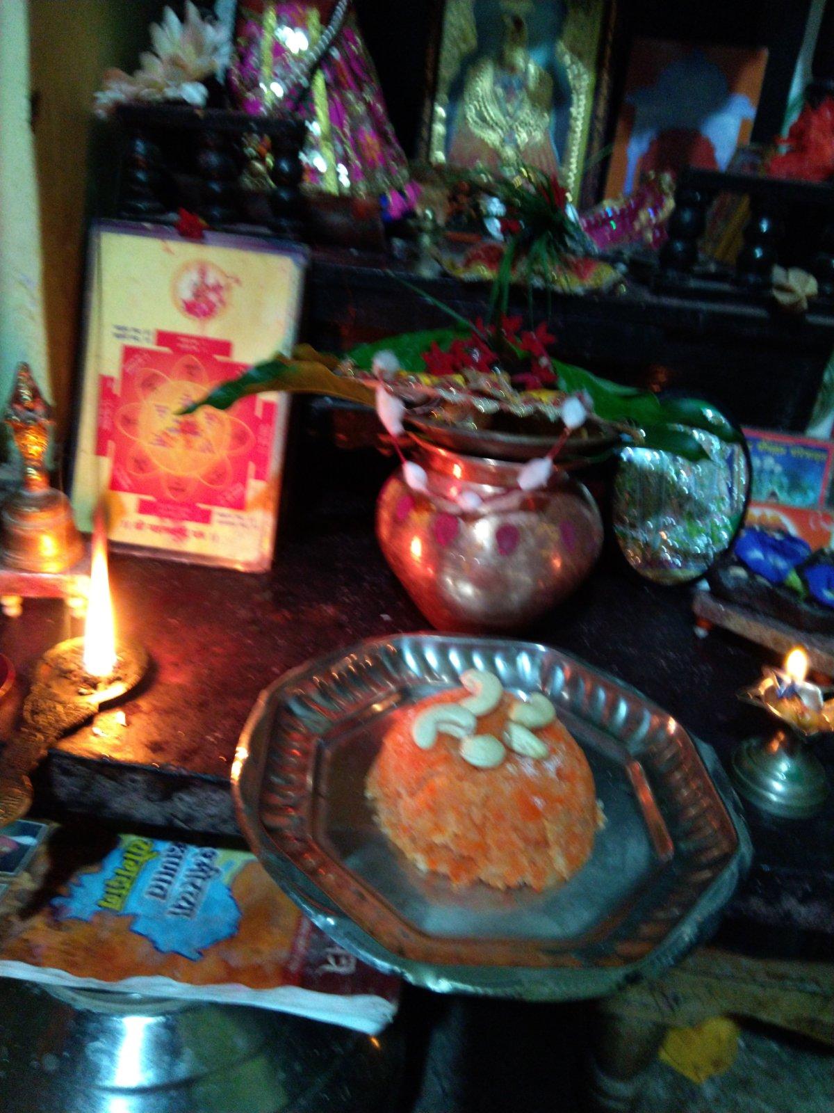 Durga Kavach/Keshar Halwa Recipe -chhayaonline. com