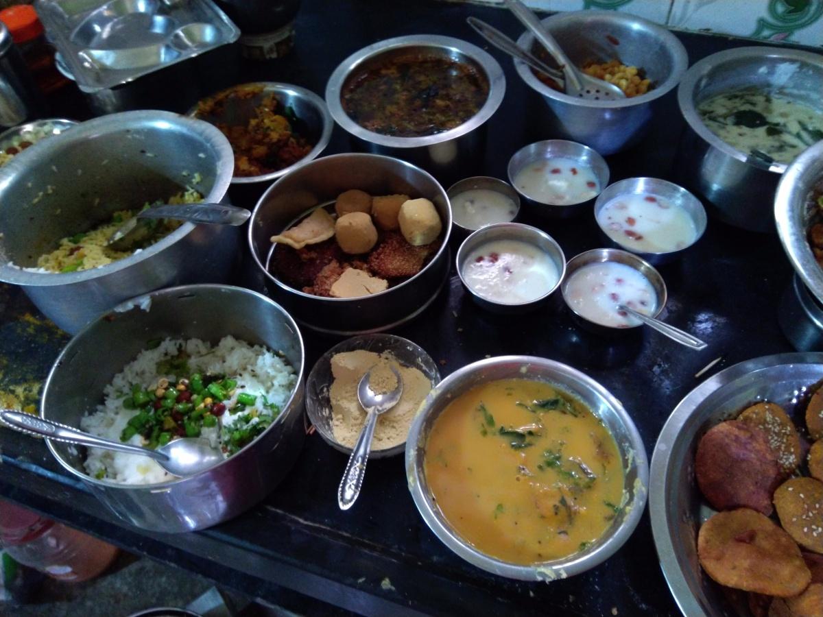 Mahalaxmi pooja Arti-Bhojan-chhayaonline. com